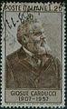Cinquantenario della morte di Giosuè Carducci - 1957 - francobolli Italia.jpg