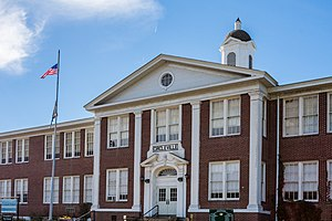 National Register of Historic Places listings in Pendleton County, West Virginia - Image: Circleville School 2662