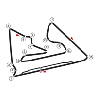 The Bahrain Circuit in Sakhir