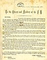 """Circular letter of James Gibbons and J. C. O'Brien, """"To the Officers and Members of the Fenian Brotherhood,"""" New York, February 28, 1870.jpg"""
