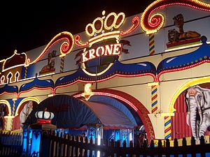 Entrance to Circus Krone