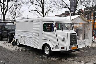 Citroën H Van - Citroën HY Long Wheel Base