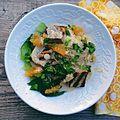 Citrus-Tahini Bowl with Grilled Tofu & Bok Choy