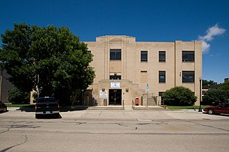 Mandan, North Dakota - City Hall in Mandan
