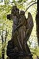 City of London Cemetery Henry Alcock 1909 angel sculpture grave monument 2.jpg