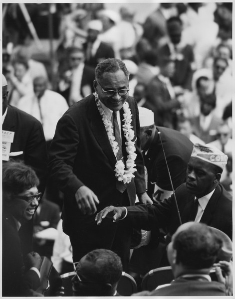 Civil Rights March on Washington, D.C. (Dr. Ralph Bunche.) - NARA - 542041