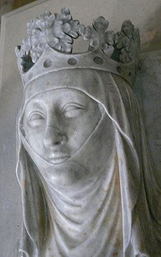 Couvent des Jacobins de la rue Saint-Jacques - Clementia of Hungary, from her effigy, originally in the monastery church.