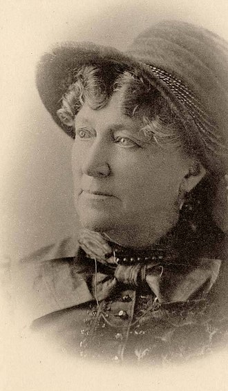 Clara Fisher - The actress in her later years
