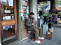 Clarinet player Pike Place Market Seattle.JPG