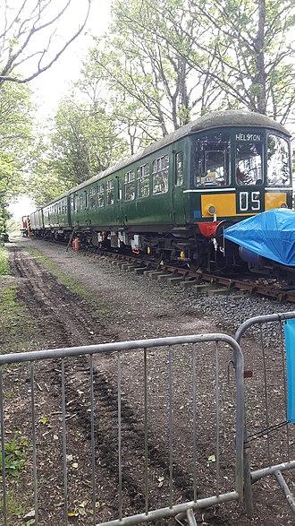 British Rail Class 103 - Image: Class 103 @ Helston Railway