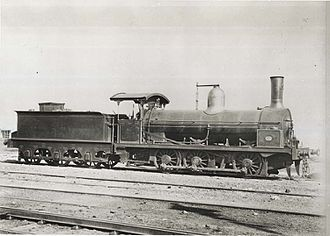 Long Boiler locomotive - New South Wales railways 48 class, c. 1880