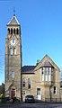 Clock tower of Northfield, West Derby Cemetery 2.jpg