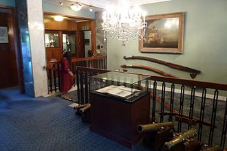 Royal Thames Yacht Club - Image: Cmglee Royal Thames Yacht Club interior