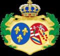 CoA of Marie-Antoinette of Austria.png