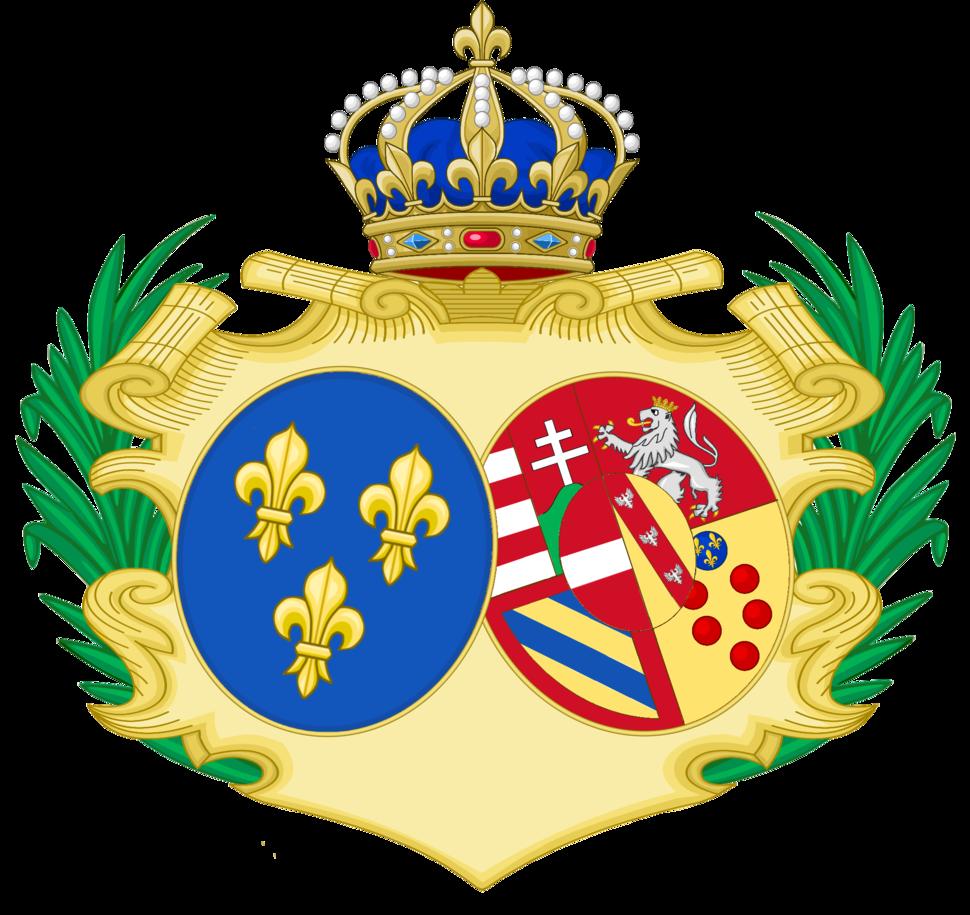 CoA of Marie-Antoinette of Austria