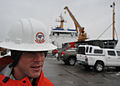 Coast Guard, other environmental response agencies prepare equipment for oil-recovery training 120123-G-JL323-001.jpg