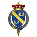 Coat of Arms of Jock Stirrup, Baron Stirrup, KG, GCB, AFC, FRAeS, FCMI.png