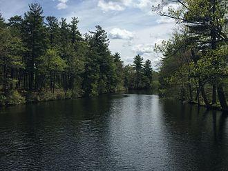 Cochecho River - The Cocheco at Hanson Pines, Rochester, New Hampshire, 2016