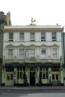 Cock and pullet pub