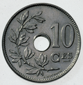 Coin BE 10c Albert I rev FR 44.png