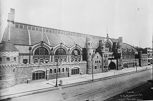 Coliseum building, Chicago. Exterior view.