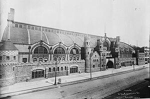 Chicago Coliseum - Exterior of the third Chicago Coliseum