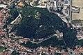 Colle della Rocca, Monselice Aerial View R01 (cropped).jpg