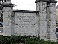 College Avenue Gateway, Pomona College (South Side).jpg