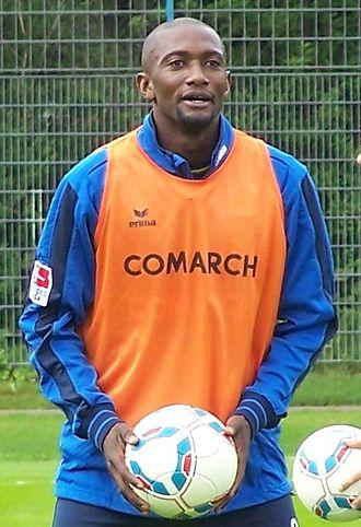 Collin Benjamin - Benjamin at practice with 1860 München in 2011.