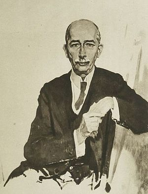 Edward M. House - Edward M. House, from An Onlooker in France 1917–1919 by William Orpen, 1921. Plate LXXXV