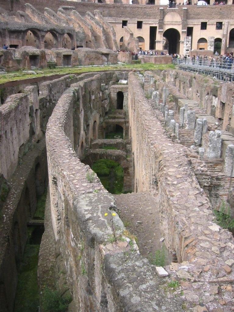 Colosseum detalj