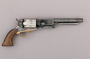 Colt Walker Percussion Revolver, serial no. 1017 MET 58.171.1 002feb2015.jpg