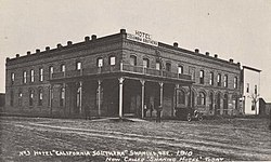 Columbia Southern Hotel 1910 Shaniko Oregon Jpg