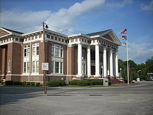 Whiteville, North Carolina - Columbus County Courthouse