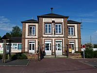 Combon (Eure, Fr) mairie.JPG