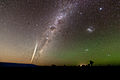 Comet Lovejoy 2011 Milky Way Wide Field.jpg