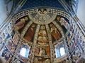 Como, basilica di sant'abbondio, cortile, interno, affreschi 02.JPG