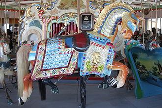 Marcus Illions - A 1909 Illions creation on the Coney Island Carousel