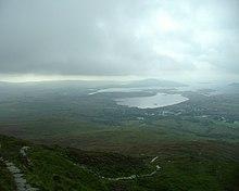 I Am A Connemara Man Barnaderg Bay, Bucht nordwestlich des Connemara-Nationalparks