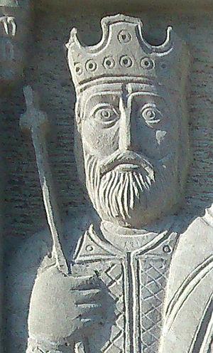 Constantine I of Georgia - Image: Constantine I relief