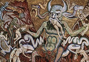 Coppo di Marcovaldo - The Hell (detail) - WGA05225
