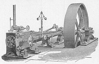 Corliss steam engine Type of steam engine using rotary steam valves