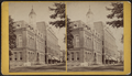 Cornell Library and Masonic Block, Ithaca, from Robert N. Dennis collection of stereoscopic views.png