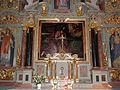 Cornillé (35) Église Sainte-Melaine Maître-autel et son retable 04.JPG