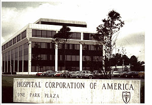 Hospital Corporation of America - Corporate office in 1972