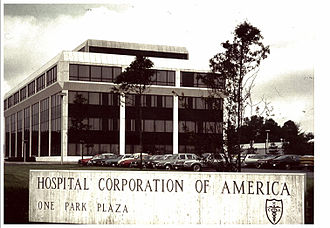 HCA Healthcare - Corporate office in 1972