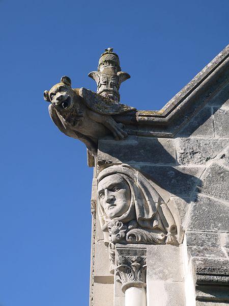 Chapelle du cimetière (détail).