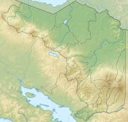 Costa Rica Alajuela relief map.png
