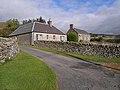 Cottages near Tinnis Farm - geograph.org.uk - 1531156.jpg
