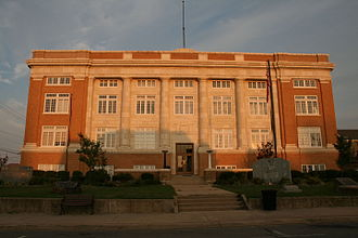 Conway County, Arkansas - Image: Court House Morrilton